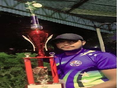 RAGA - NATIONAL VOLLEYBALL CHAMPIONSHIP - SVES BTECH STUDENT Mr.SHIVAJI